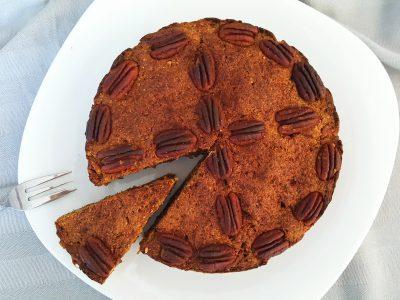 Wortel & appel (pulp) taart