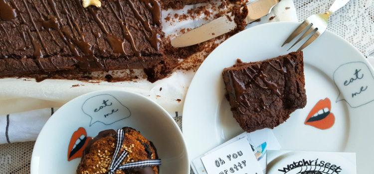 Zwarte bonen brownies + WINACTIE -Oh You Pretty Plates-