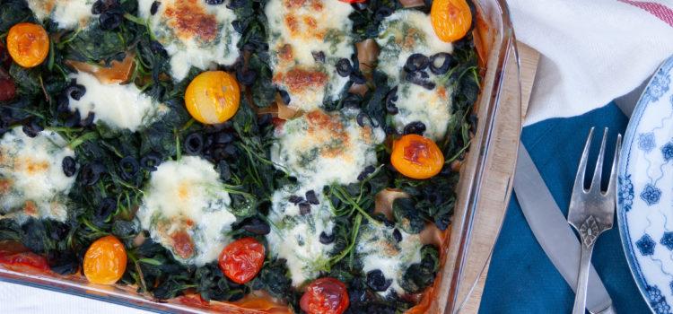 Voedzame lasagne & veel groenten
